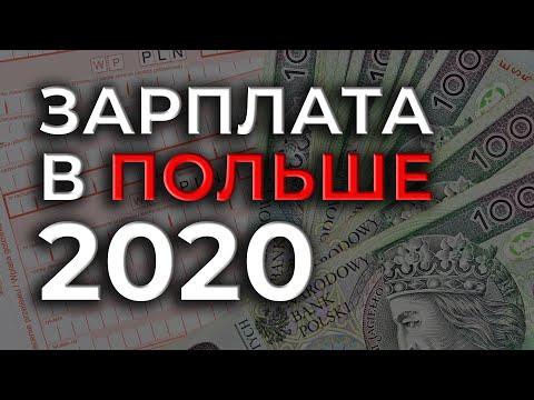 Зарплаты в Польше в 2020 году. Сколько можно заработать в Польше?