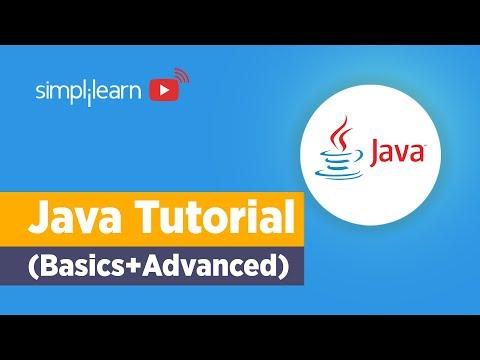 Java Tutorial For Beginners | Java Basics To Advanced | Java ...