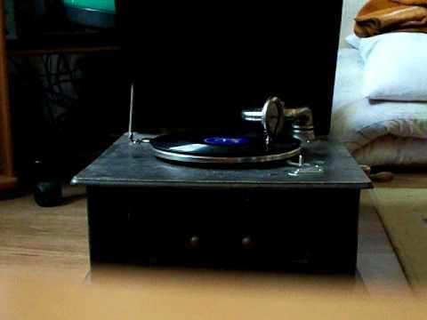 gramophone 78 rpm - chór Dana - czerwony kapturek