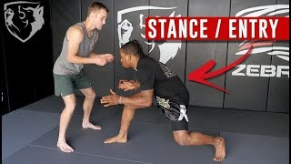 Wrestling for MMA: Stance & Entry for Takedowns