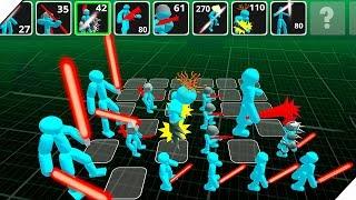 БИТВА ВОИНОВ СТИКМЕНОВ - Игра Stickman Simulator Battle of Warriors - Android.