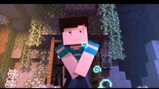 Крутой клип в майнкрафт и анимация
