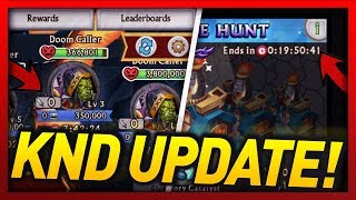 """Knights and Dragons - BRAND """"NEW"""" KnD Update! Finally a really useful update! (RAID & CHESTS UPDATE)"""
