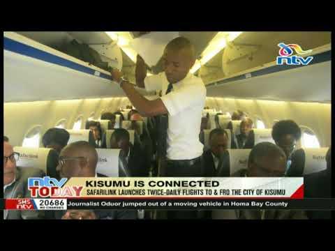 Safarilink launches twice-daily flights to Kisumu