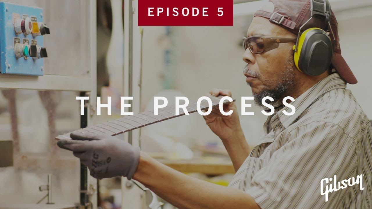 The Process: Episode 5 - Fingerboards Get Fretted and Inlaid At Gibson USA