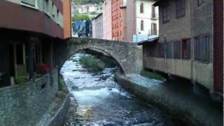 preview picture of video 'Pont d'Escaldes-Engordany'