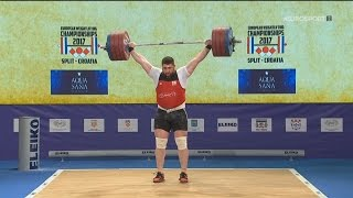 2017 European Weightlifting Championships Men +105 kg \ Тяжелая атлетика Чемпионат Европы [1080]