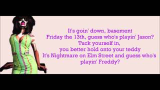 Nicki Minaj - My Chick Bad Verse Lyrics Video
