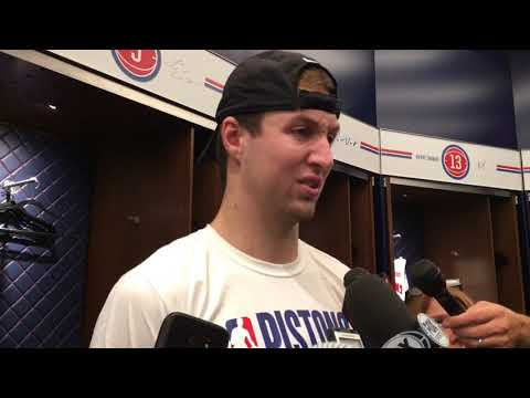 Pistons' Luke Kennard breaks down loss to Minnesota