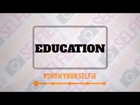 #ShowYourSelfie Una Petición Visual por la Juventud