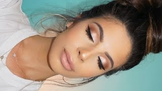 MY NATURAL  MAKEUP TUTORIAL 2017 - Video Youtube