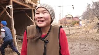 قرية بلا رجال  نساء قيرغزستان القويات