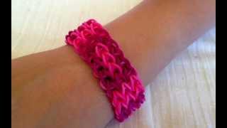 Rainbow Loom bracelet  -  Get inspired to make them yourself. Rubber bands bracelets.