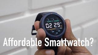 Amazfit Verge Smartwatch Unboxing & Review