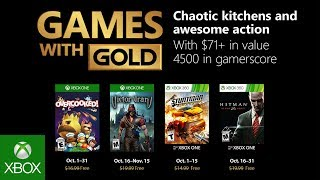 Xbox - October 2018 Games with Gold