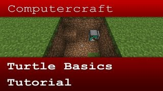 Turtle Basics - Computercraft Tutorial (Crafticy)