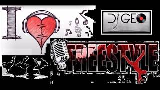FREESTYLE _ ANGELINA - TEARS ARE FALLING FROM MY EYES (DJ GEO)