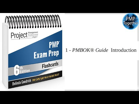 PMP - Exam Prep FLashcards 6th Edition - PMBOK Guide ...