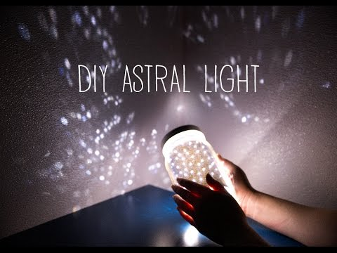 DIY Astral Light (Starlight Projector)