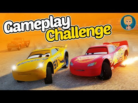 Lightning McQueen - Fast As Lightning Cars Franceso Bernoulli Gameplay (Gertit ToysReview)