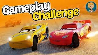 Lightning McQueen - Fast as Lightning Cars Franceso Bernoulli Gameplay (Gertit ToysReview)