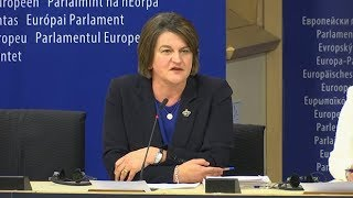 Arlene Foster warns EU: no Brexit deal can create border between Northern Ireland and Britain