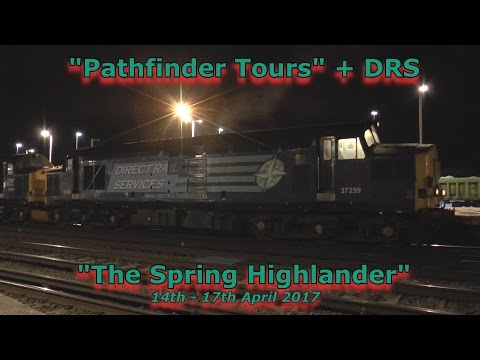 37259 & 37609 at Oxford, Eastleigh and Basingstoke with 'The…