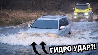 Offroad Гелендваген 6х6 против МАЖОРОВ на ТАНКОВОЙ дороге!