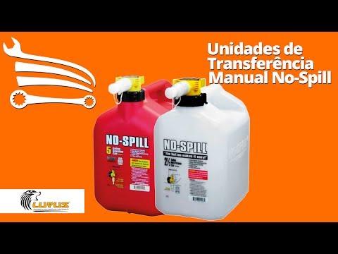 Unidade de Abastecimento Manual No Spill para Transferência de Gasolina - 5 Litros - Video