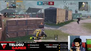 Pubg Mobile | Lets Go Fun Stream | TelugUGameR Live Stream