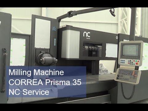 Milling Machine CORREA Prisma 35 - NC Service