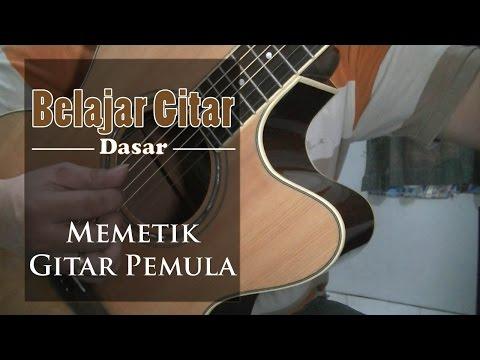 Video Belajar Gitar Dasar - belajar memetik gitar pemula