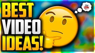 🤔 HOW TO THINK OF THE BEST YOUTUBE VIDEO IDEAS 2017!!! HOW I COME UP WITH UNLIMITED VIDEO IDEAS! 🤔