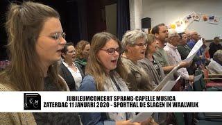Jubileumconcert Sprang-Capelle Musica - 11 januari 2020