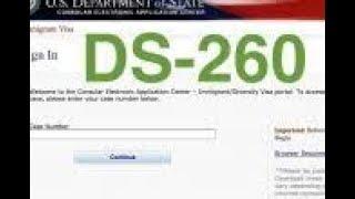 I-130 Spousal Visa (CR -1) Process-Part-4 Immigrant Visa & Alien Registration Application ( DS-260 )