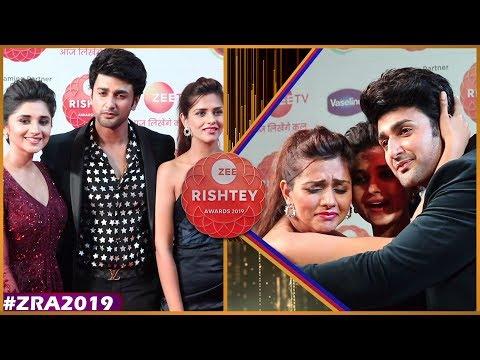 Zee Rishtey Awards 2019: Guddan Tumse Na Ho Payega Cast Kanika Mann, Nishant Malkani & Dalljiet Kaur