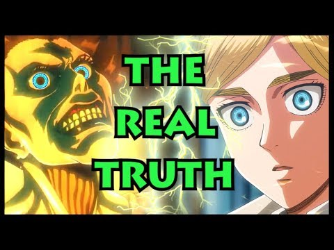 The Biggest SECRET in Attack on Titan! (Shingeki no Kyojin The Paths, The Coordinate and Ymir Fritz)