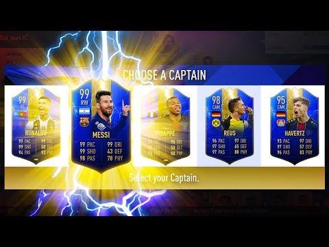 ULTIMATE TOTS FUT DRAFT CHALLENGE! - FIFA 19 Ultimate Team