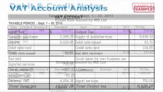 Accounting for VAT