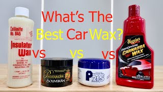 WHAT'S THE BEST CAR WAX?