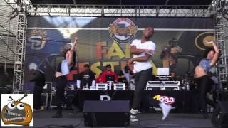 Marcus Canty Performs In and Out @ Bayou Classic 2012