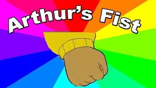 What is the Arthur's fist meme? The meaning and origin of the Arthur memes explained