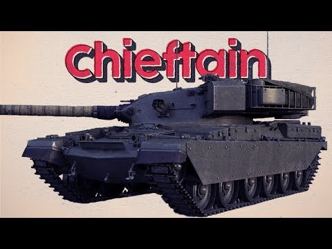 Mr. Reliable - Chieftain Mk 3 - War Thunder RB Gameplay