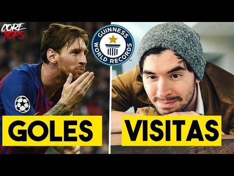 5 RECORDS GUINESS de FAMOSOS Que Nadie Podrá Superar | Germán, Messi, Duki
