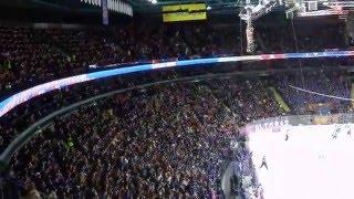 СКА-Локомотив (3:0) 25.02.16 - Волна в Ледовом дворце.