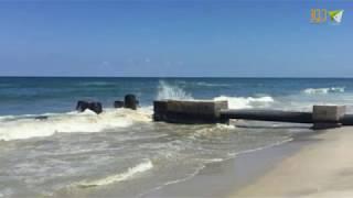 مشاريع معالجة مياه الصرف الصحي بغزة