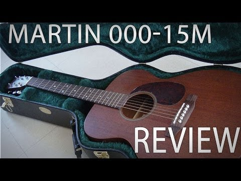 Martin 000-15M Acoustic Guitar Review & Demo