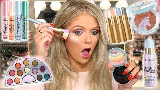 NEW TOO FACED UNICORN COLLECTION | FULL FACE FIRST IMPRESSIONS - Video Youtube