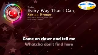 "[2003] Sertab Erener - ""Every Way That I Can"" (Turkey)"