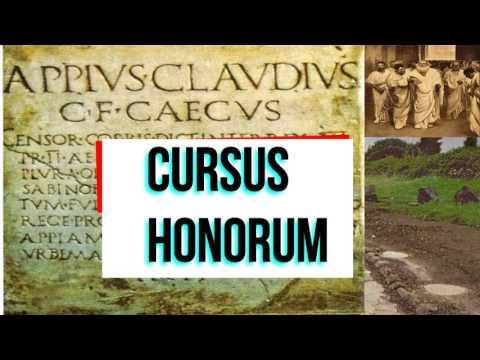 Il cursus honorum di Appio Claudio Cieco